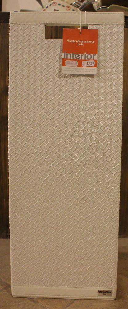 Portaombrelli quadrato bianco Andrea Fontebasso