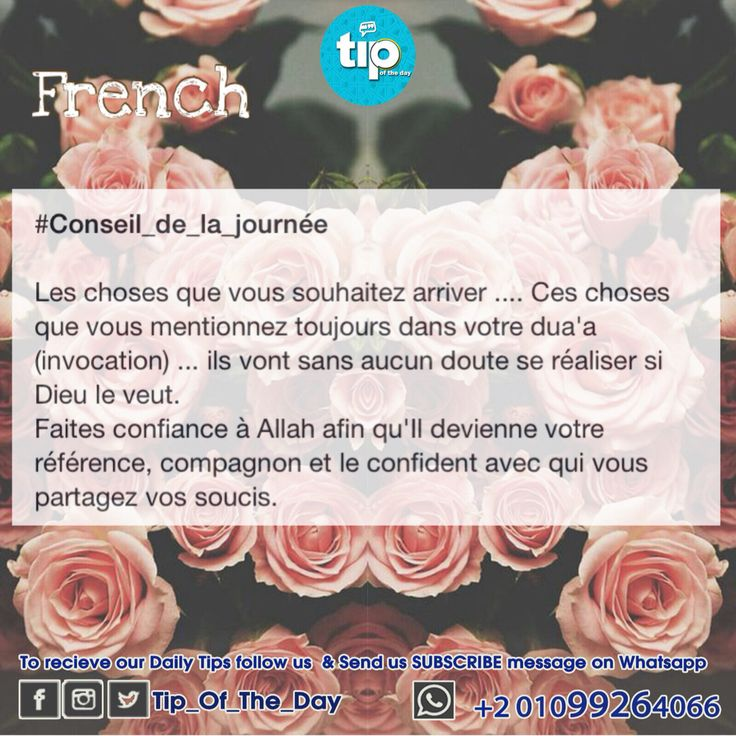 #conseil_du_jour #français #tip_of_the_day #life #daily #sunan #teachings #islamic #posts #islam #holy #quran #good #manners #prophet #muhammad #muslims #smile #hope #jannah #paradise #quote #inspiration