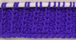 tutorial to several tunisian stitch types