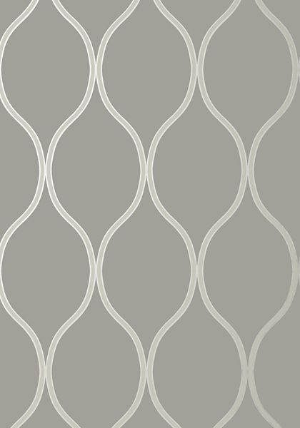 Camber #wallpaper in #charcoal from the Geometric Resource 2 collection. #Thibaut