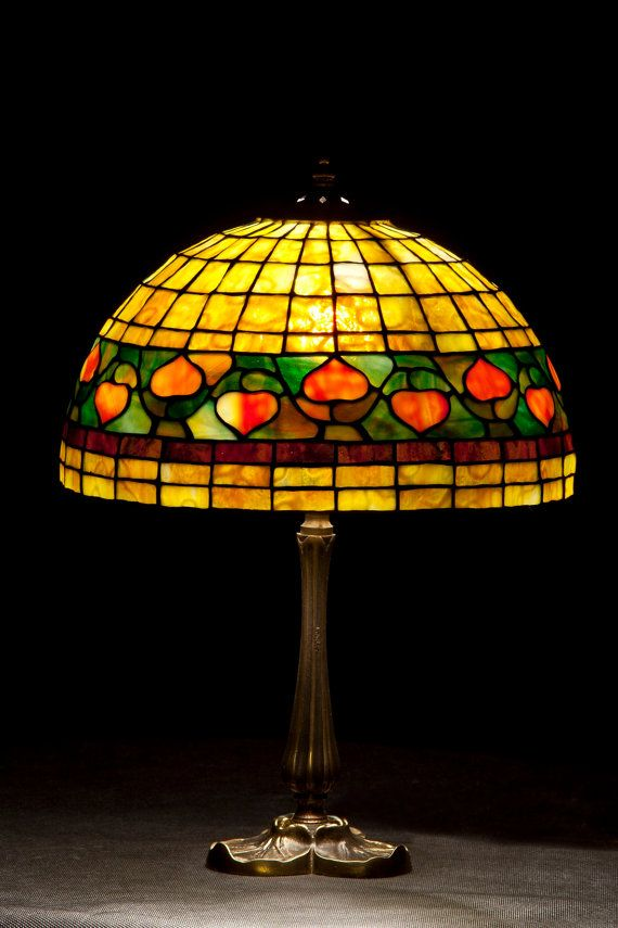 160 best Tiffany lamps images on Pinterest | Stained glass ...
