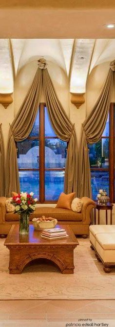 528 best images about beautiful curtains drapes on pinterest for Old world window treatments