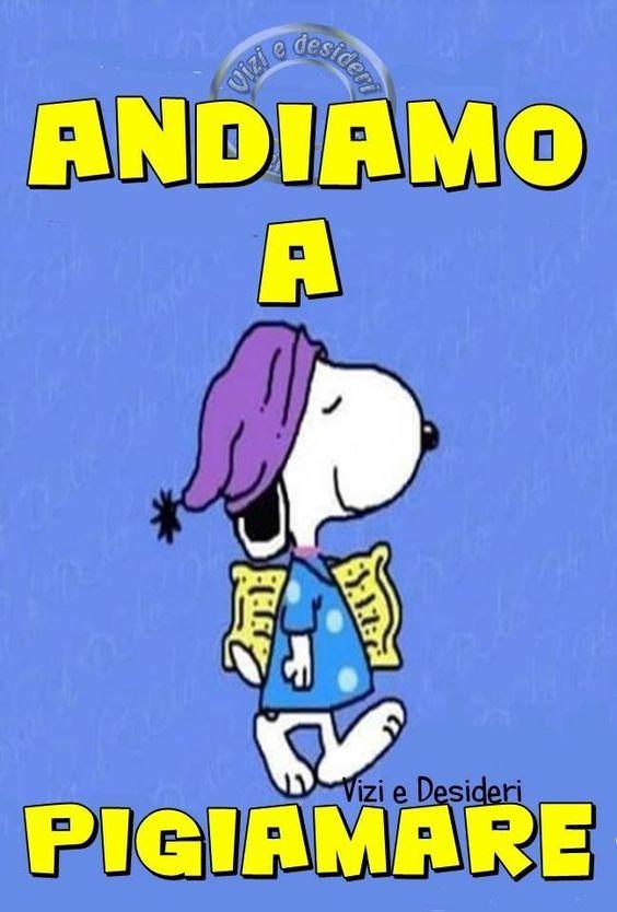 Immagini Della Buonanotte Con Snoopy Powermall