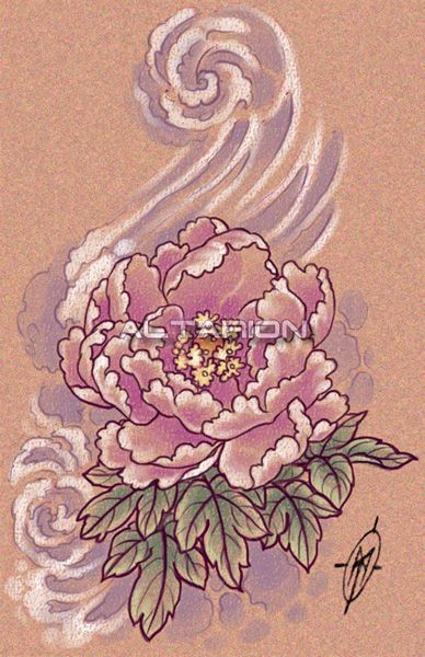 peonies tattoos | Peony Tattoo Designs Page 33 Picture