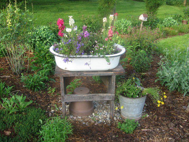Tammy's cottage garden of yesteryear