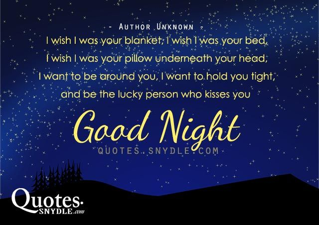 Loving these goodnight quotes. I shall pin 7 - one for each night this week so you will know i am thinking of you. Xx