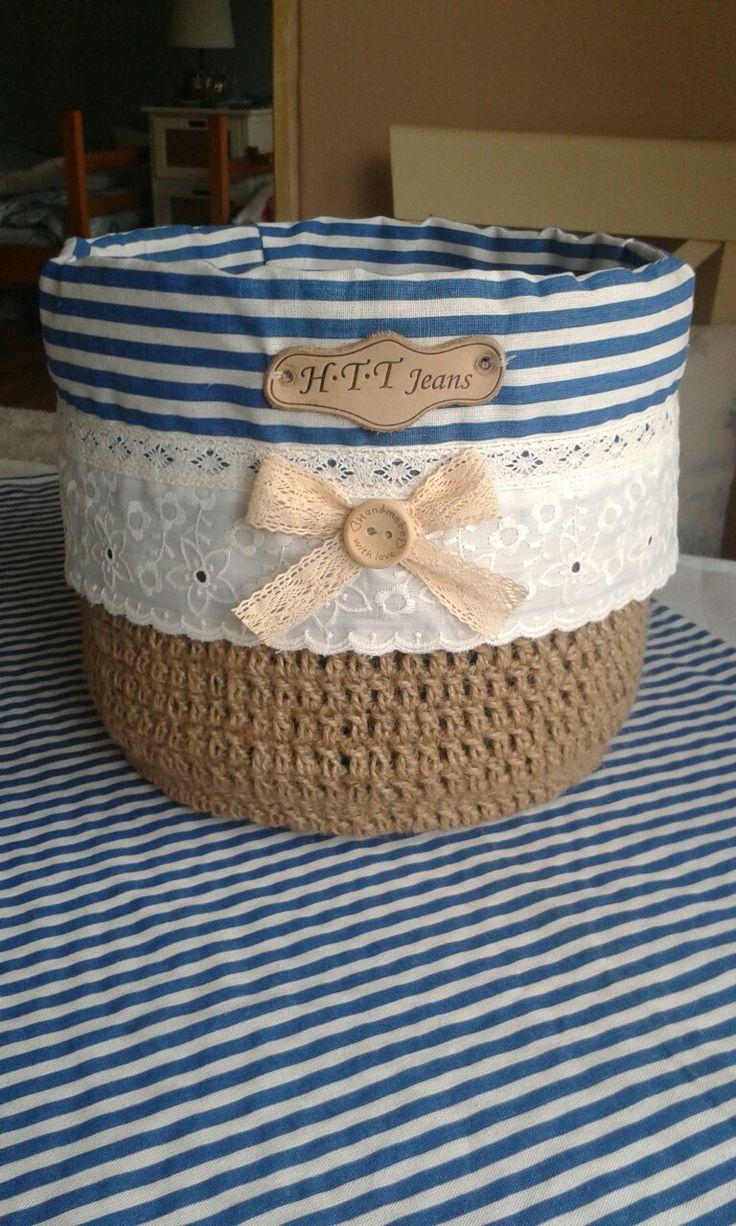 Hand made basket