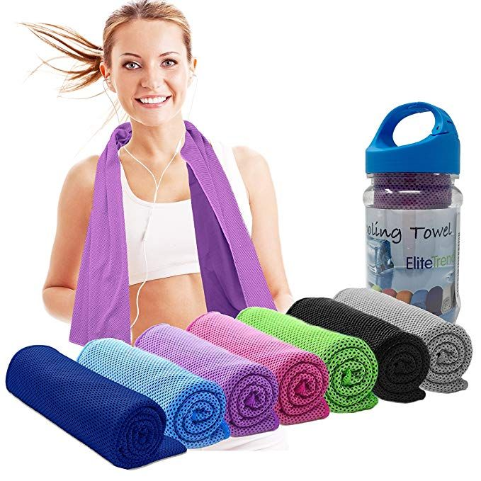 Elite Trend Cooling Towels And Neck Wrap Cold Neck Cooler Wraps