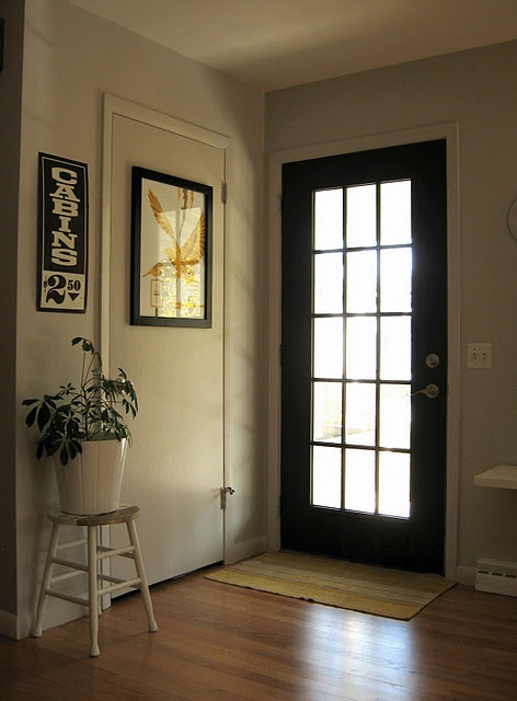 17 best images about black doors vs white doors on for White back door