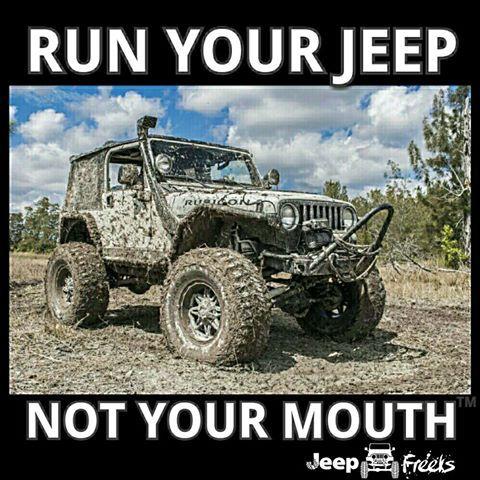 Run Your Jeep Jeeps Rock Pinterest Jeeps Jeep