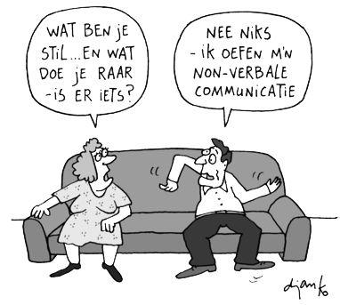 Non-Verbale Communicatie — Robert van der Wolk