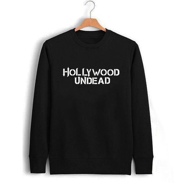>> Click to Buy << Male Black Hollywood Undead Letter Print Sweatshirt Men Fall Winter Clothing Male Pullover Print Sweat Boys Transfer Printing #Affiliate