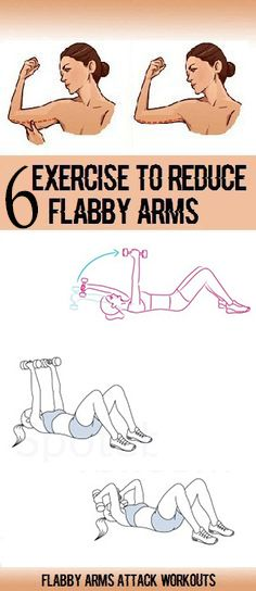 6 Exercises to Get Rid of ARM Flab at Home
