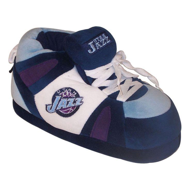 Comfy Feet NBA Sneaker Boot Slippers - Utah Jazz Boot Slipper - UJA01LG