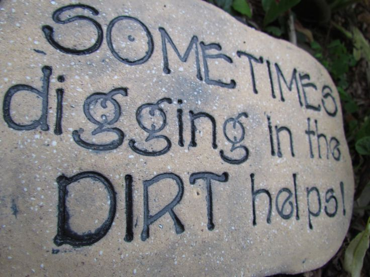 Funny+Garden+Signs | Therapy Advice On Funny Outdoor Engraved Garden Stone  Sign