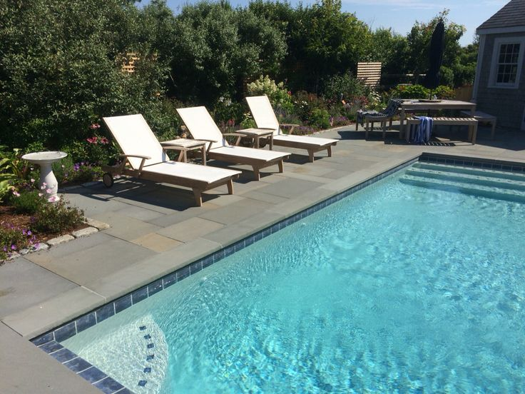 Newly Finished Pool Install. Nantucket