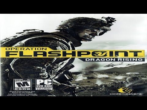 Operation Flashpoint: Dragon Rising Windows Vista Gameplay (Codemasters 2009) (HD) - YouTube