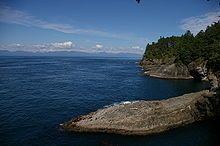 Cape Flattery, Washington  Northwesternmost point of the contiguous United States.