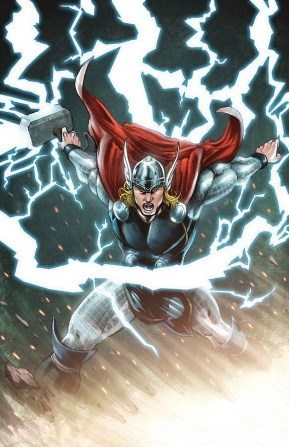 artwork gods lightning marvel - photo #26