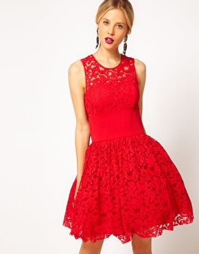 Here's the link to this dress on the ASOS site @Jessica Gallant, @Caroline Williams, @Sarah Hoisington   ASOS Prom Dress in Lace With Elastic Waist