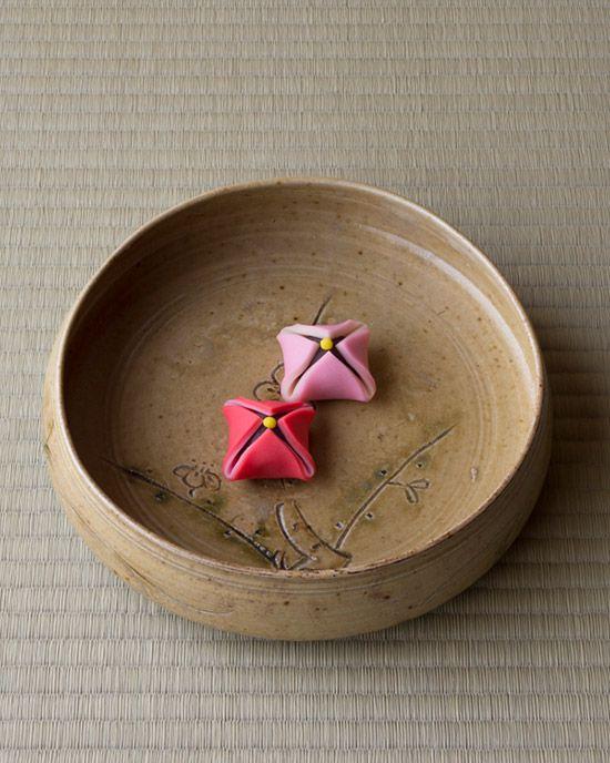 Japanese sweets, Plum Blossoms 未開紅