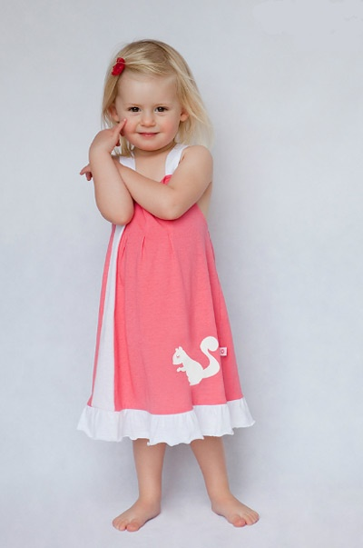 summer dress for Josephine, yes, maybe in a couple of years!