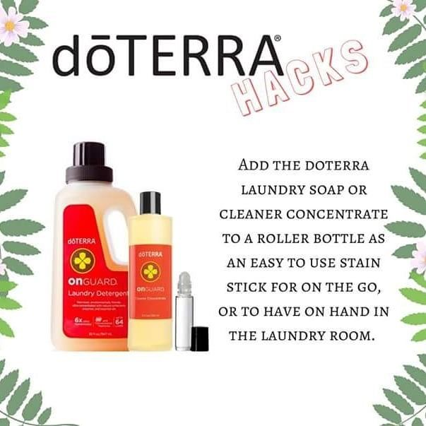 Doterra Stain Remover Foaming Hand Wash Laundry Soap Natural