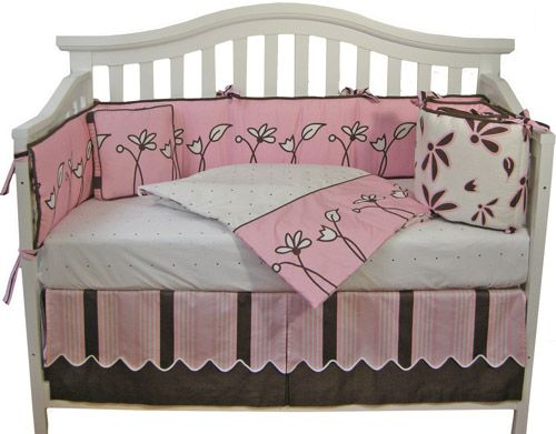 Pink and brown baby room images pink and brown baby bedding