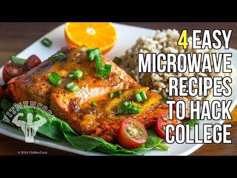 ▶ 4 Microwave Recipes to Hack College Life / 4 Recetas Hechas en el Microondas - YouTube