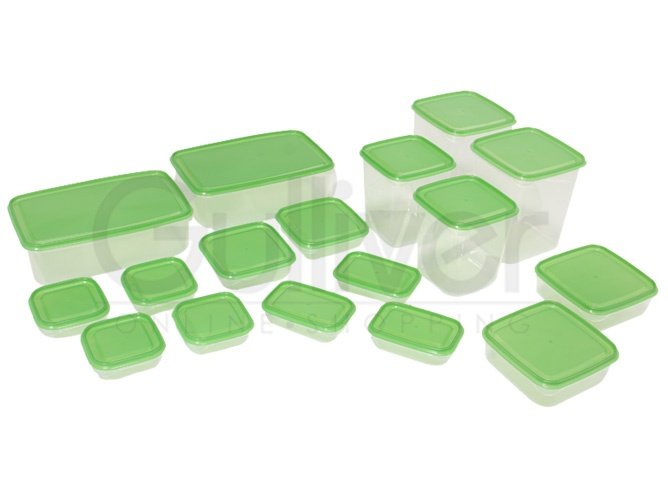 IKEA PRUTA 17 Food saver set containers jar sealer plastic container storage box