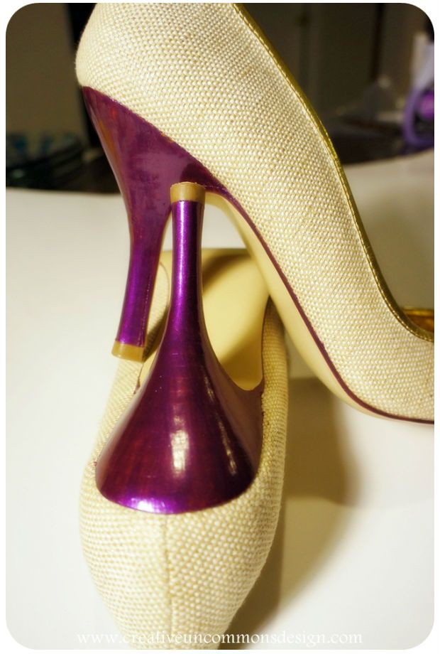 esmalte para reformar sapatos