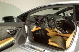 Lamborghini Huracan interior.
