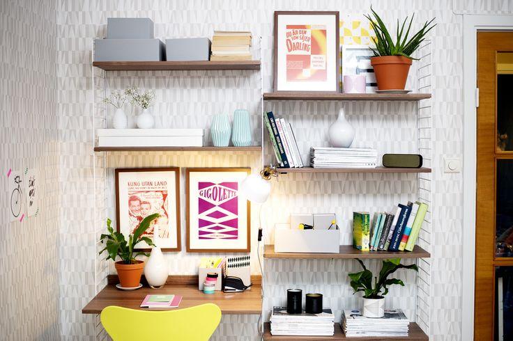 Perfekta skrivbordslösningen, mysigt och trevligt. absolut nått att fundera på
