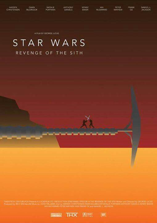 Revenge of the sith Minimalist Poster