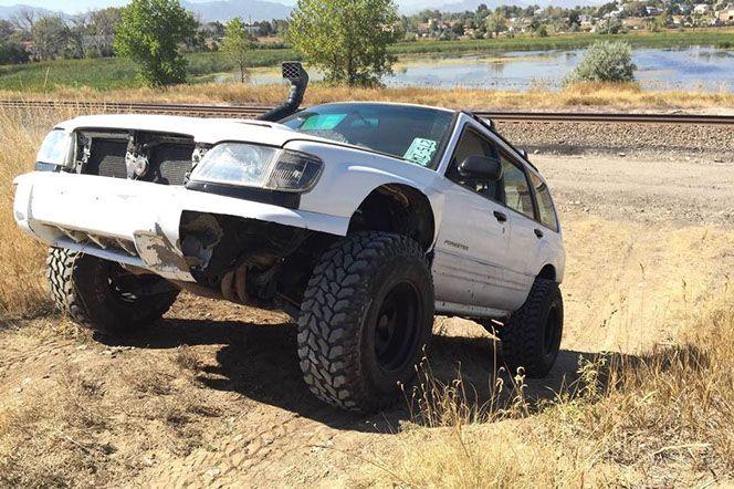 "Subaru lift kits Saggy bum spacer 3/8"" 1"" 2"" 4"" Forester XV Crosstrek Outback SF SG Tribeca made in usa"