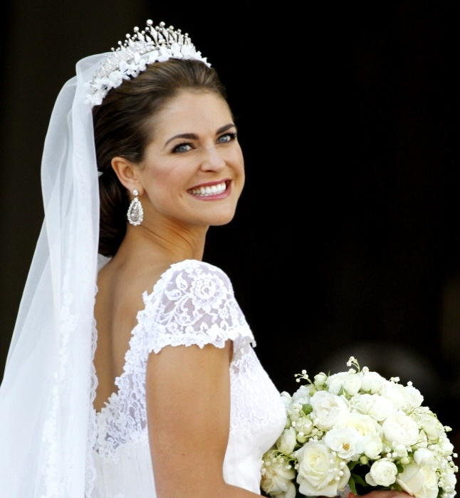 Princess Madeleine Of Sweden S Low Braided Bun With