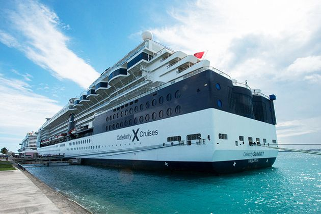 Celebrity Summit in port (photo: Cruise Critic)