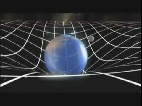 This video shows Einstein's theory of gravity. Einstein proposed that gravity is not a force, nut rather an effect of space itself. This deals with Chapter 7 Gravitation.