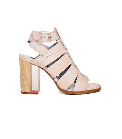 Miista Isabella Heeled Sandals ($424) in Pink