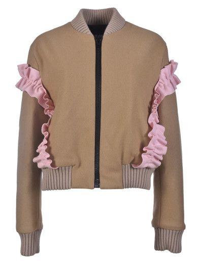 MSGM MSGM Ruffled Jacket. #msgm #cloth #coats-jackets