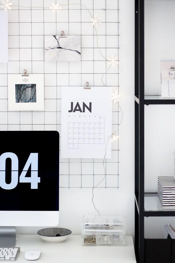 Die 10 schönsten Kalender Printables für 2017 // Puppenzirkus.com
