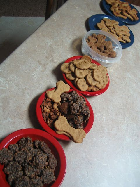 Homemade dog treats. Great gift for any pet lover or for your