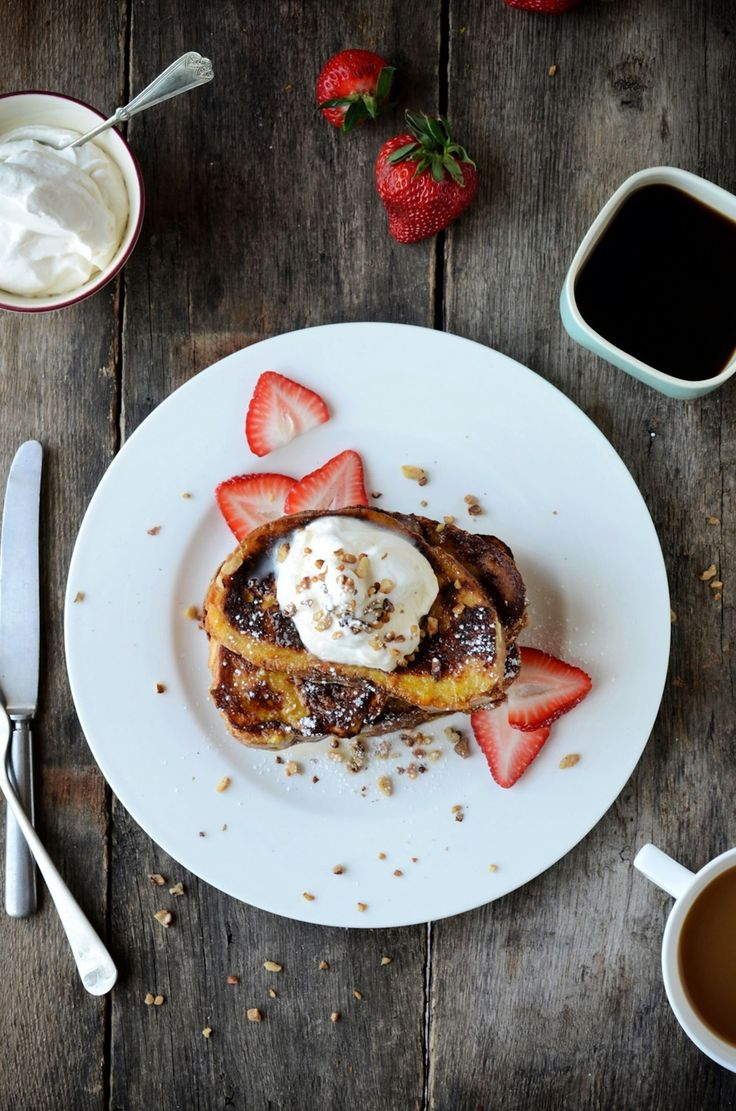 French Toast with Orange Zest and Maple Whipped Cream | Natrel