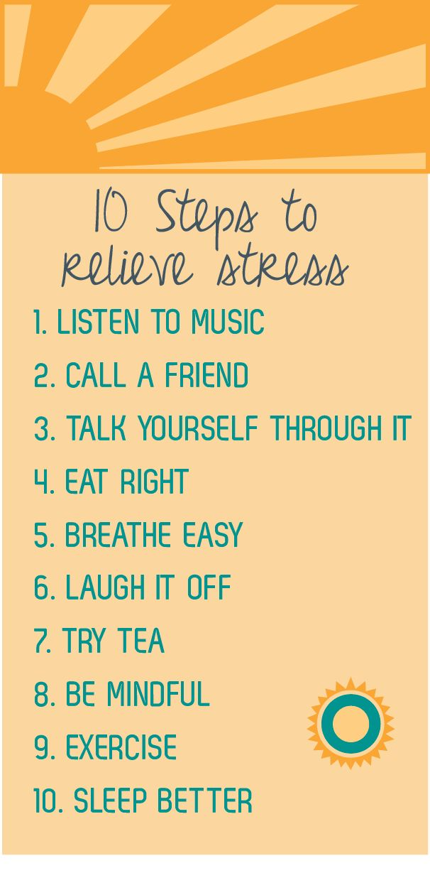10 Steps To Relieve Stress Tips And Tricks Pinterest How Anxiety