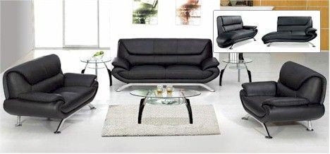 Leather Living Room Set 7040 $1400 3 pieces