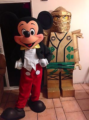 Mickey mouse mascot costume high quality replica
