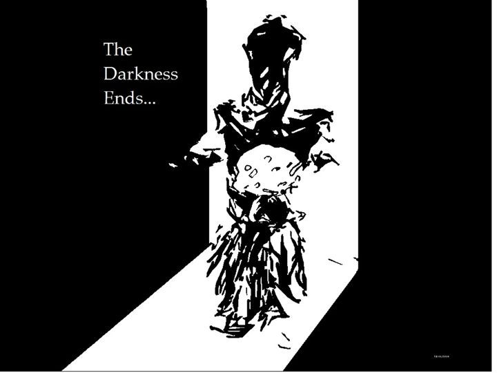 The Darkness Ends - Tateartwork