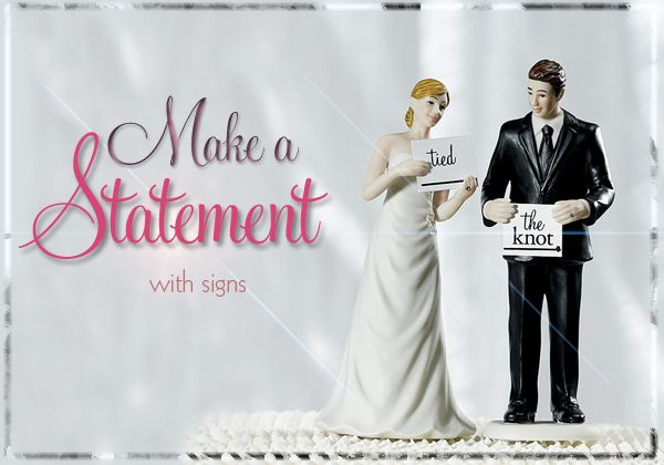 Designer Spotlight: Making a Statement (with signs!)