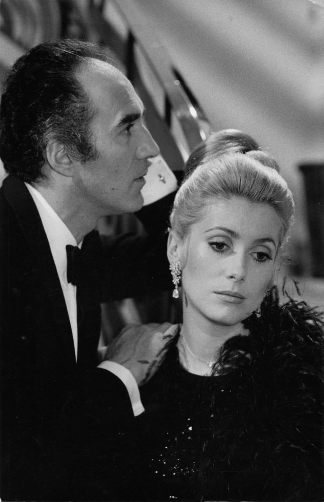 Photo originale Michel Piccoli Catherine Deneuve La chamade Alain Cavalier