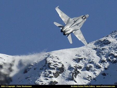 Swiss Air Force F/A-18 Hornet, McDonnell Douglas Corporation (now Boeing), 34x, 1997